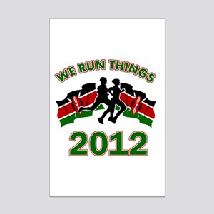 All Kenya does is win Mini Poster Print