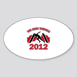 All Trinidad and Tobago does is win Sticker (Oval)