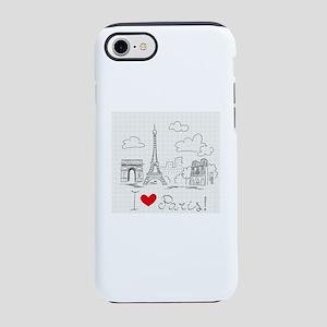 I love Paris iPhone 7 Tough Case
