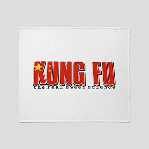 Kungfu designs Throw Blanket