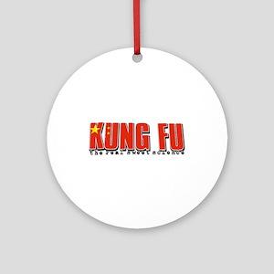 Kungfu designs Ornament (Round)