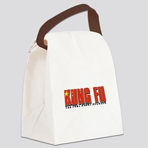 Kungfu designs Canvas Lunch Bag