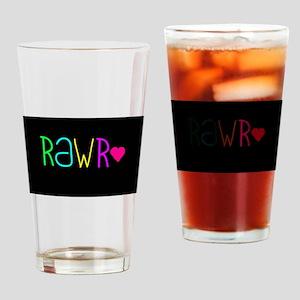 Rawr ? Drinking Glass