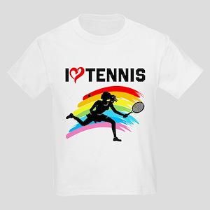 I LOVE TENNIS Kids Light T-Shirt