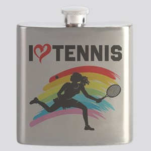I LOVE TENNIS Flask