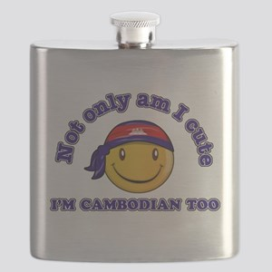 Cute and Cambodian Flask