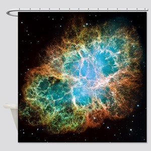 Crab Nebula (High Res) Shower Curtain