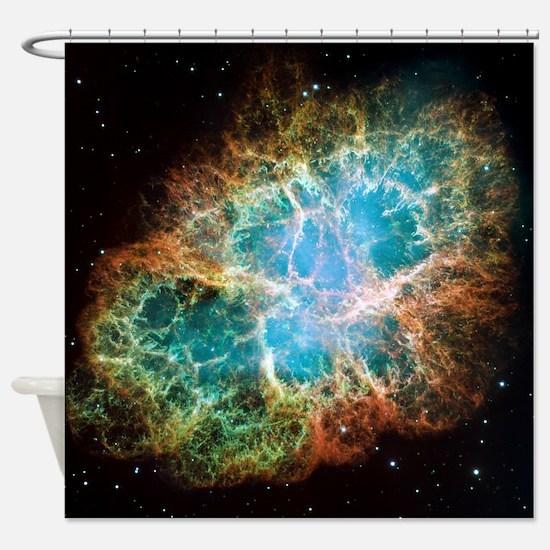 Crab Nebula (High Res) Shower Curtain