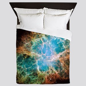 Crab Nebula (High Res) Queen Duvet