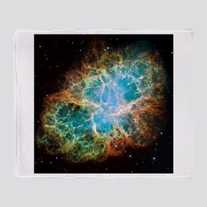 Crab Nebula (High Res) Throw Blanket