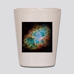 Crab Nebula (High Res) Shot Glass