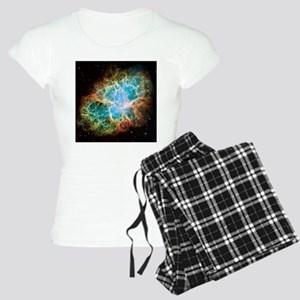 Crab Nebula (High Res) Women's Light Pajamas