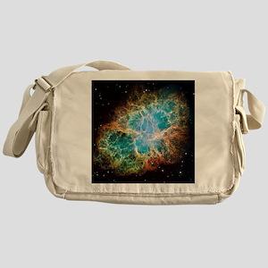 Crab Nebula (High Res) Messenger Bag
