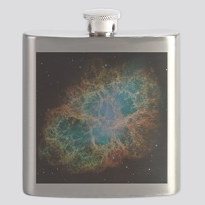 Crab Nebula (High Res) Flask