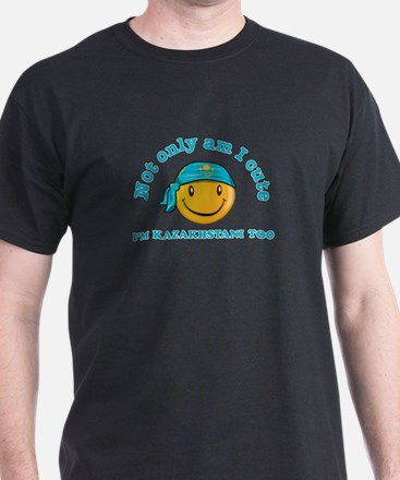 Cute and Kazakhstani T-Shirt