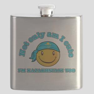 Cute and Kazakhstani Flask