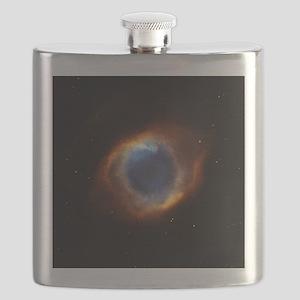 Helix Nebula (High Res) Flask