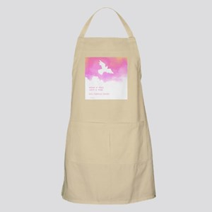 What if they gave a war (Pink) BBQ Apron
