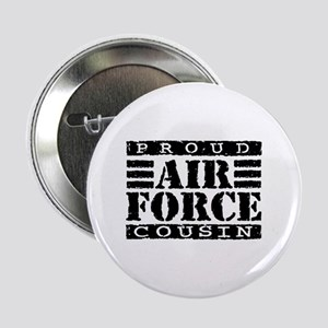 Proud Air Force Cousin Button
