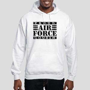 Proud Air Force Cousin Hooded Sweatshirt