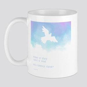 What if they gave a war (Blue) Mug