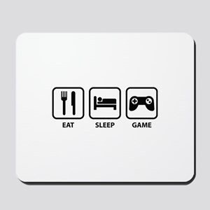 Eat Sleep Game Mousepad