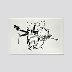 Sloane Dance Bug Rectangle Magnet