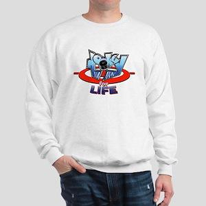 Hockey for life Sweatshirt