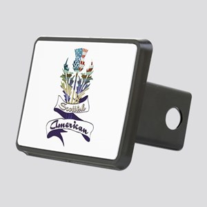 Scottish American Thistle Rectangular Hitch Cover