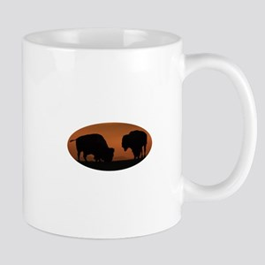Bison Sunset Mug