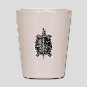 Vintage Turtle Shot Glass