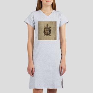 Vintage Turtle Women's Nightshirt