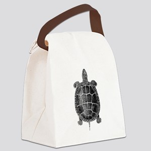 Vintage Turtle Canvas Lunch Bag