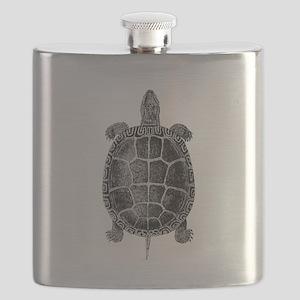 Vintage Turtle Flask