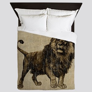 Vintage Lion Queen Duvet
