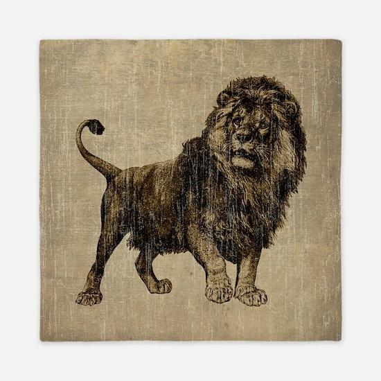Vintage Lion Queen Duvet