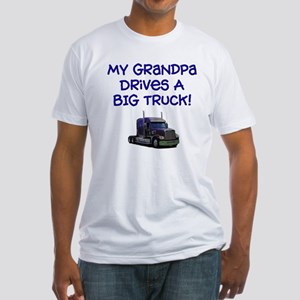 My Grandpa drives... Fitted T-Shirt