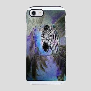 Zebras! Wildlife art! iPhone 7 Tough Case