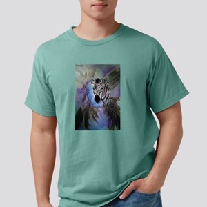Zebras! Wildlife art! Mens Comfort Colors Shirt
