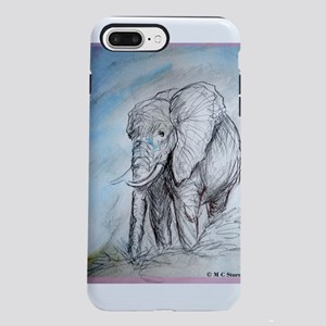Elephant! Wildlife art! iPhone 7 Plus Tough Case
