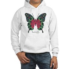Yule Butterfly Hooded Sweatshirt