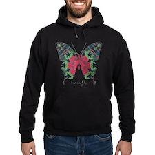 Yule Butterfly Hoodie (dark)