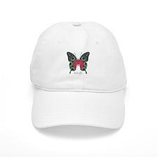 Yule Butterfly Cap