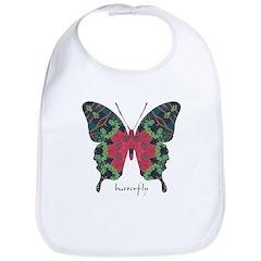 Yule Butterfly Bib