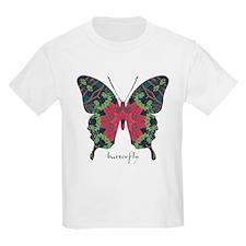Yule Butterfly Kids Light T-Shirt