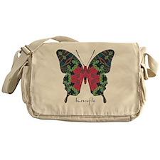 Yule Butterfly Messenger Bag