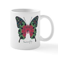 Yule Butterfly Mug