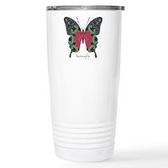 Yule Butterfly Stainless Steel Travel Mug
