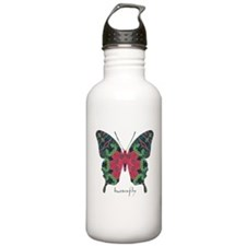 Yule Butterfly Stainless Water Bottle 1.0L