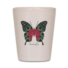 Yule Butterfly Shot Glass